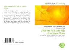 Capa do livro de 2008–09 A1 Grand Prix of Nations, China