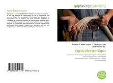 Couverture de Opto-électronique
