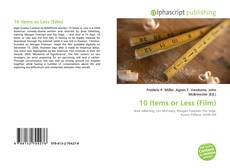 Copertina di 10 Items or Less (Film)