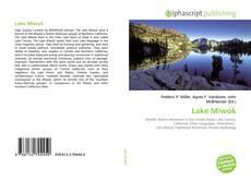 Bookcover of Lake Miwok