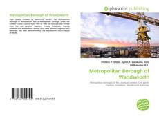 Bookcover of Metropolitan Borough of Wandsworth