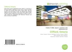 Bookcover of Clifford, Ontario