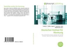 Buchcover von Deutsches Institut für Normung