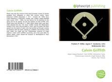 Capa do livro de Calvin Griffith