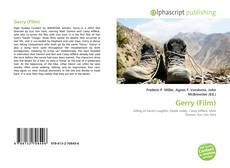 Bookcover of Gerry (Film)
