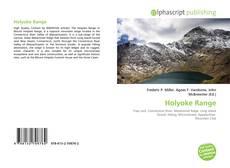 Bookcover of Holyoke Range