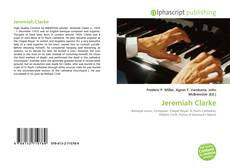 Bookcover of Jeremiah Clarke