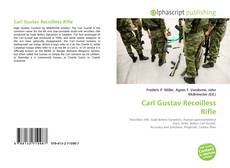 Bookcover of Carl Gustav Recoilless Rifle