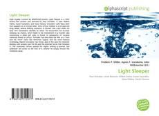 Обложка Light Sleeper