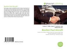 Buchcover von Boulton Paul Aircraft