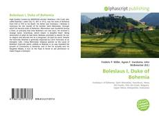 Обложка Boleslaus I, Duke of Bohemia