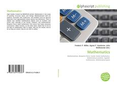 Обложка Mathematics
