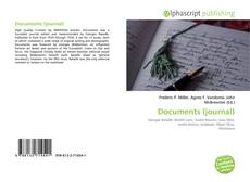 Bookcover of Documents (journal)