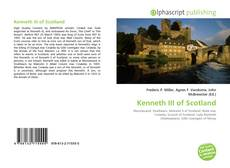 Bookcover of Kenneth III of Scotland
