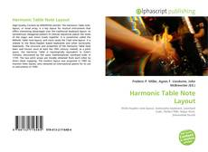 Bookcover of Harmonic Table Note Layout