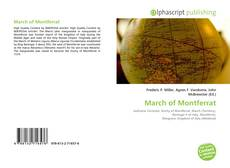 Buchcover von March of Montferrat