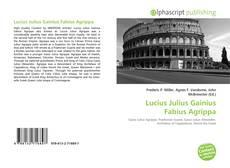 Couverture de Lucius Julius Gainius Fabius Agrippa