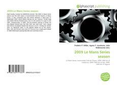 Bookcover of 2009 Le Mans Series season