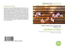 Bookcover of Gardener of Eden