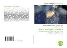 Bookcover of Rum-running in Windsor