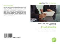 Bookcover of Dvorak encoding