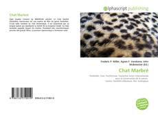 Portada del libro de Chat Marbré