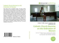 Portada del libro de Catholic Church Doctrine on the Ordination of Women