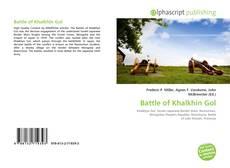 Borítókép a  Battle of Khalkhin Gol - hoz
