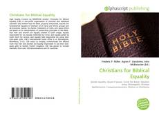 Couverture de Christians for Biblical Equality