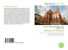 Bookcover of Meletius of Antioch