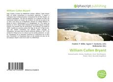 Bookcover of William Cullen Bryant