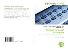 Electronic musical instrument kitap kapağı