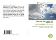 Capa do livro de Insomnia (2002 Film)
