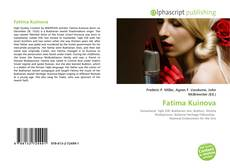 Bookcover of Fatima Kuinova