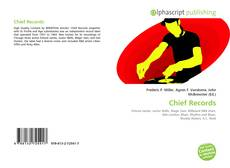 Bookcover of Chief Records