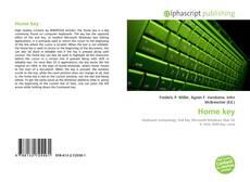 Buchcover von Home key