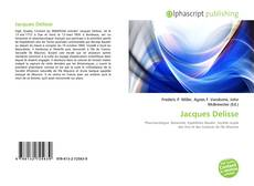 Bookcover of Jacques Delisse