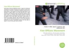 Bookcover of Free Officers Movement