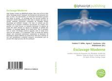 Esclavage Moderne kitap kapağı