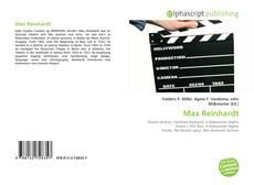 Bookcover of Max Reinhardt