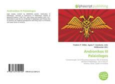 Portada del libro de Andronikos III Palaiologos