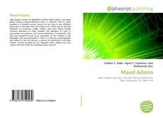 Couverture de Maud Adams