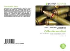 Bookcover of Calibre (Arme à Feu)