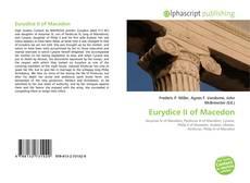 Bookcover of Eurydice II of Macedon