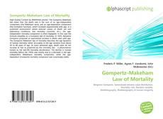 Обложка Gompertz–Makeham Law of Mortality