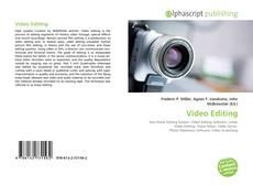 Copertina di Video Editing