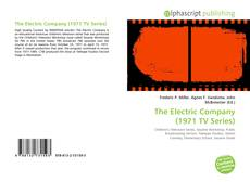 Bookcover of The Electric Company (1971 TV Series)