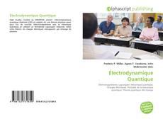 Électrodynamique Quantique kitap kapağı