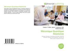 Borítókép a  Mécanique Quantique Relativiste - hoz