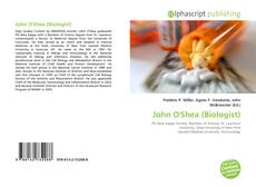 John O'Shea (Biologist)的封面